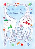 Add A Name Valentine-Octopus